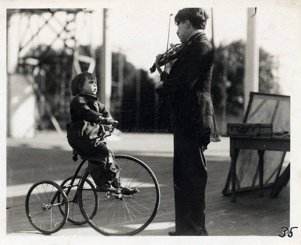 The kid (1921) - Fuente: Chaplin's Project